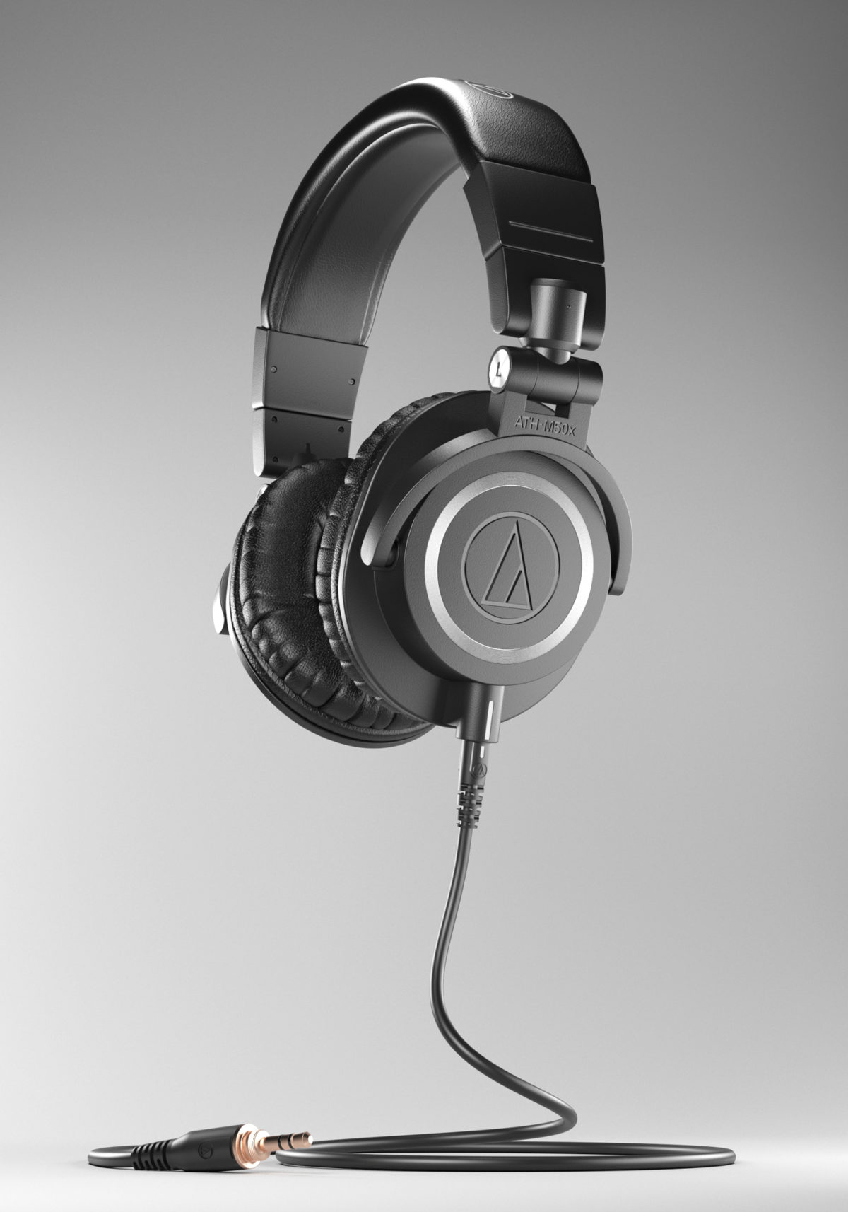 Photoreal Audio-Technica ATH-M50x 3D Model