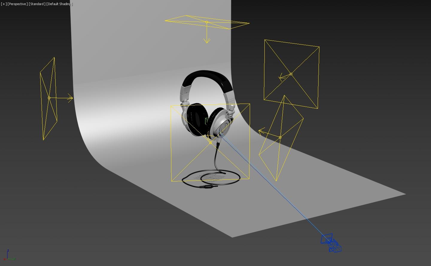 Photoreal Audio-Technica ATH-M50x 3D Model